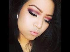8. Red & Plum Eyeshadow Tutorial (Using BH Cosmetics 120 Color Palette)