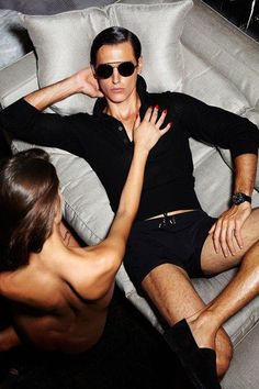 Tom Ford's Spring Menswear Look Book Obviously Features Lots of Nudity and Ass Pinching