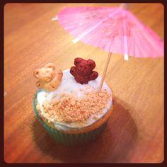 Beach Cupcakes :)