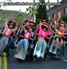 roller coaster costume