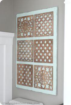 DIY Decorative Tile Wall Art