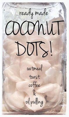 Ready Made Coconut Dots!