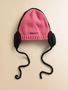 headphon idea, hats, knit idea, kid headphon, headphon hat, gift ideas, craft idea, trumpett kid, kids