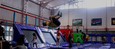 AMPED Trampoline Park is #Singapore's very first indoor #trampoline park! Be one of the first to try out their facilities located at Tanjong Katong Road! Nearest MRT: Dakota #AMPED