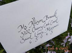 Handwritten calligraphy.