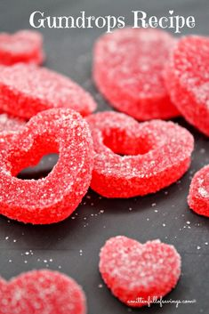 Gumdrops {recipe}: great for Valentine's Day - A Mitten Full of Savings