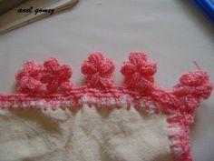 PUNTILLA #3 PARA PRINCIPIANTES EN CROCHET - YouTube en crochet, crochet puntilla, aprend crochet, crochet edgings