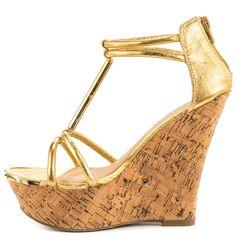 Stacie - Gold JustFab $54.99