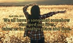 Love this song! I Go Back by Kenny Chesney.