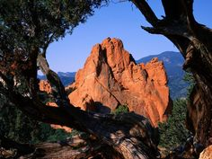 Wish I was there...Garden of the Gods, Colorado.