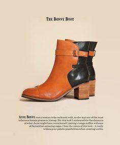 F/W 2012 footwear collection by Samantha Pleet
