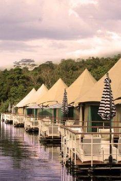 float lodg, 4 rivers floating, luxuri tent, river float