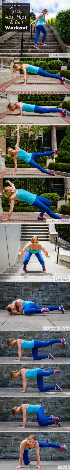 This Outdoor Workout Is the Key to Sexy Legs and Abs