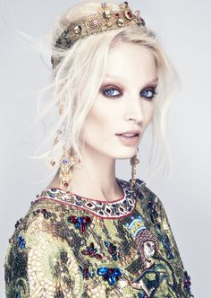 Melissa Tammerijn by Thomas Cooksey for Harper's Bazaar Singapore