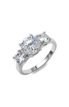 Ariella Three Stone Ring. #jewelry #accessories #ring