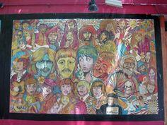 Greenwich Village music murals