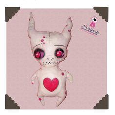 """Art Doll Miss YUCKI """"Malaise Muti Monster"""""""