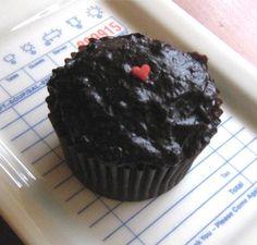 Hawaiian Chocolate Dobash Cupcakes