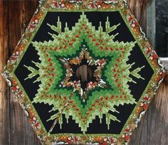 Appletree Quilting and Viking Center -- Columbia, Missouri: Shop | Category: Holiday | Product: Bargello Tree Skirt