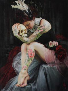 Paintings by Alexandra Manukyan