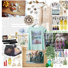 """Just Keep Swimming"", created by lucidchocolate on Polyvore"