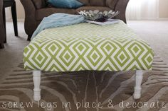 The Kinch Life | BLOG: DIY: Pallet Ottoman