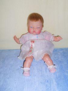 1960's Tiny Thumbelina vintage doll