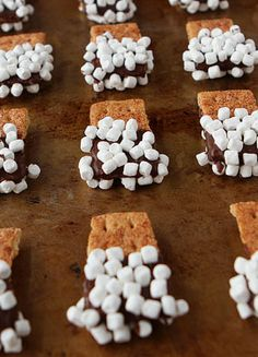 How cute are these S'mores Mini Dippers??