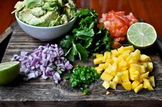 Mango Guacamole - looks delish. dip, appetizer recipes, famili, mexican appetizers, guacamole, fun recip, gluten free recipes, coupon, mango guacamol