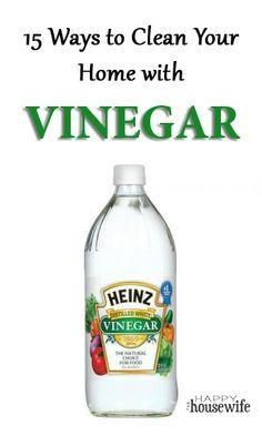 nasti chemic, clean vinegar, happi housewif
