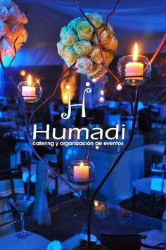 LED lighting by Humadi #Weddings  #Decoration #Blue #Bodas