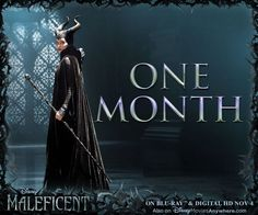 Well, Well. Maleficent comes to Blu-ray and Digital HD on Nov 4! Pre-order your copy today: http://di.sn/rhf