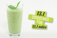 13.1 smoothies for 13.1 miles