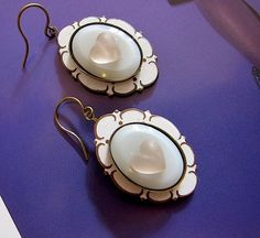 The HEART of VERSAILLES white enamel and vintage by angelcake, $32.00