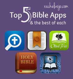 Best App Features of the Top Bible Apps- Each Bible apps holds its own strengths. Check out the best of the best in Bible apps!