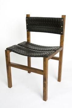 Repurpose tires to make chairs, would be fun to have in the backyard.