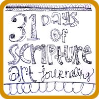 Art by Erin Leigh: 31 Days of Scripture Art Journaling:: Day 1 A Simple Start