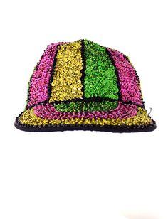 vintage 90s Striped Sequin CLUB KID Rave grunge Hat by hella90s, $35.00 /// www.art-by-ken.com
