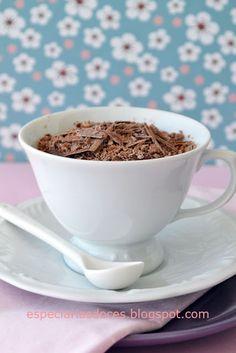 Mousse de chocolate - Chocolate mousse