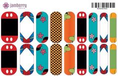 Fab 5 Jamberry Wraps