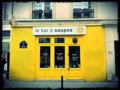 Le bar à soupe, soups restaurants, 33 rue de Charonne 75011 Paris