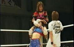 The Bloody taking on Sumie Sakai