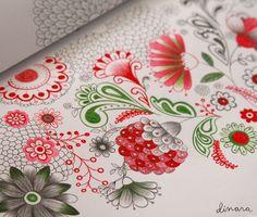Artist Dinara Mirtalipova's blog. Lovely and adorable artwork...