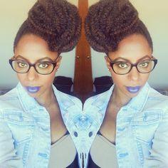 Marley hair bun