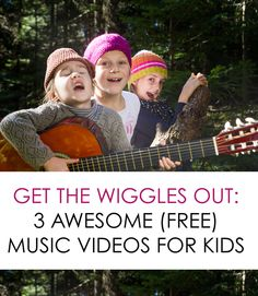 Perfect collection of YouTube music videos for a day where kids are stuck inside *My kids will love the Frozen video with Jimmy Fallon