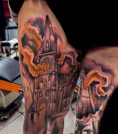 Tattoos done bySven Groenewald. @sven_von_kratz