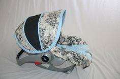 Create your own Custom Car Seat Cover. $70.00, via Etsy.