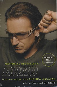 Bono is smart and lovely and talks about grace and faith and life and love.....thought provoking. michka assaya, lovethought provok