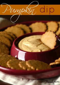 I definitely recommend getting gingersnap cookies to dip in it, the two flavors together are so tasty!