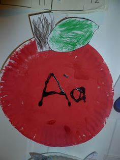 idea, craft, abc, letter aa, letter of the week a, learn, daycar, letter of the week letter a, kid